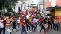 Sintrae-MT na manifestação contra as reformas de Temer – 15 de março de 2017 <br/>